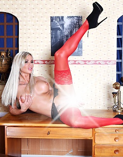Red Nylons!
